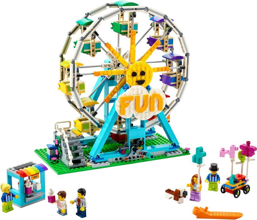 LEGO® Creator Ferris Wheel components