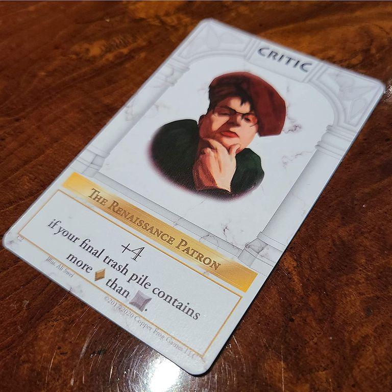 Chiseled Critic card