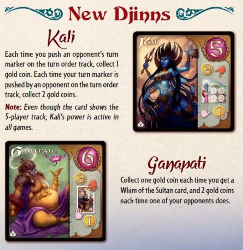 Five Tribes: Whims of the Sultan manual