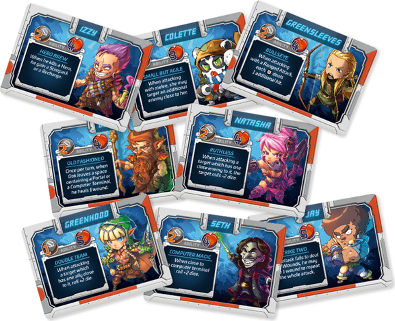 Starcadia Quest: Showdown cards
