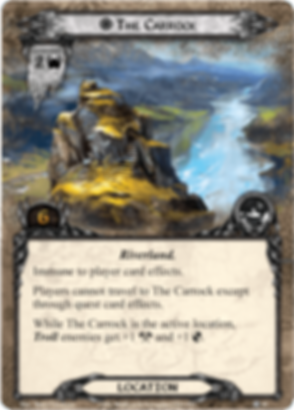 The Lord of the Rings: The Card Game - Conflict at the Carrock The Carrock card