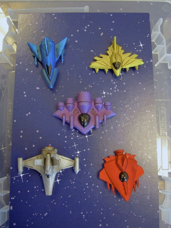 The Battle at Kemble's Cascade spaceship