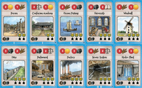 Nations cards