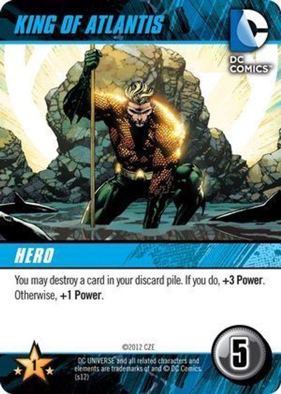 DC Comics Deck-Building Game King of Atlantis card