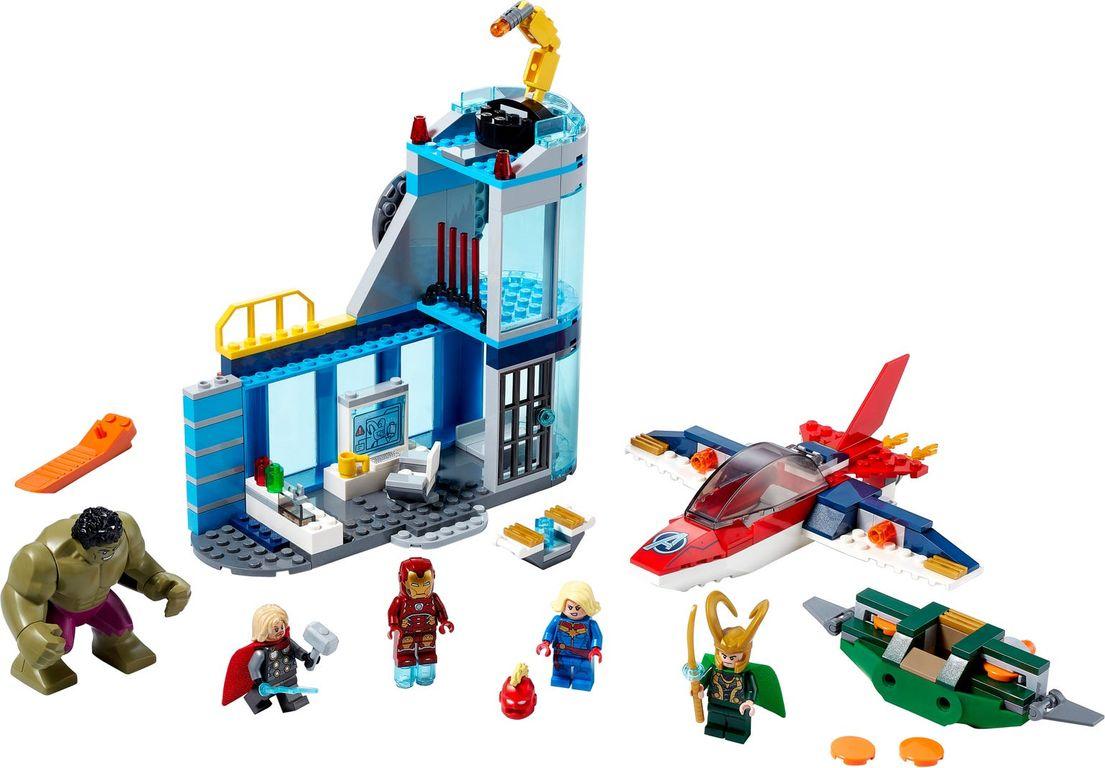 Avengers Wrath of Loki components