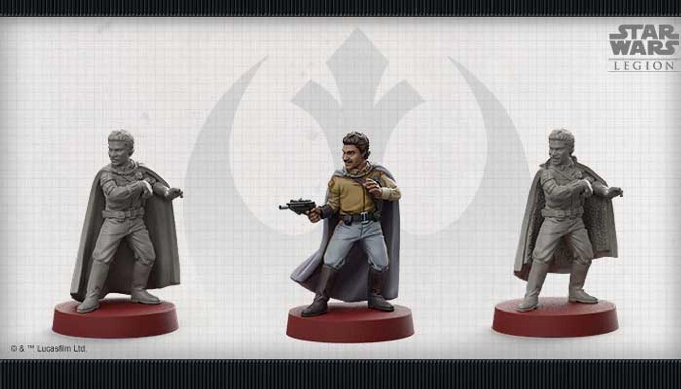Star Wars: Legion - Lando Calrissian Commander Expansion miniature