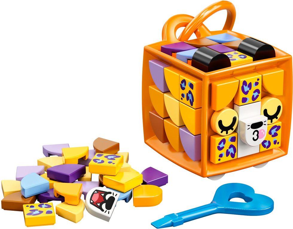 Bag Tag Leopard components