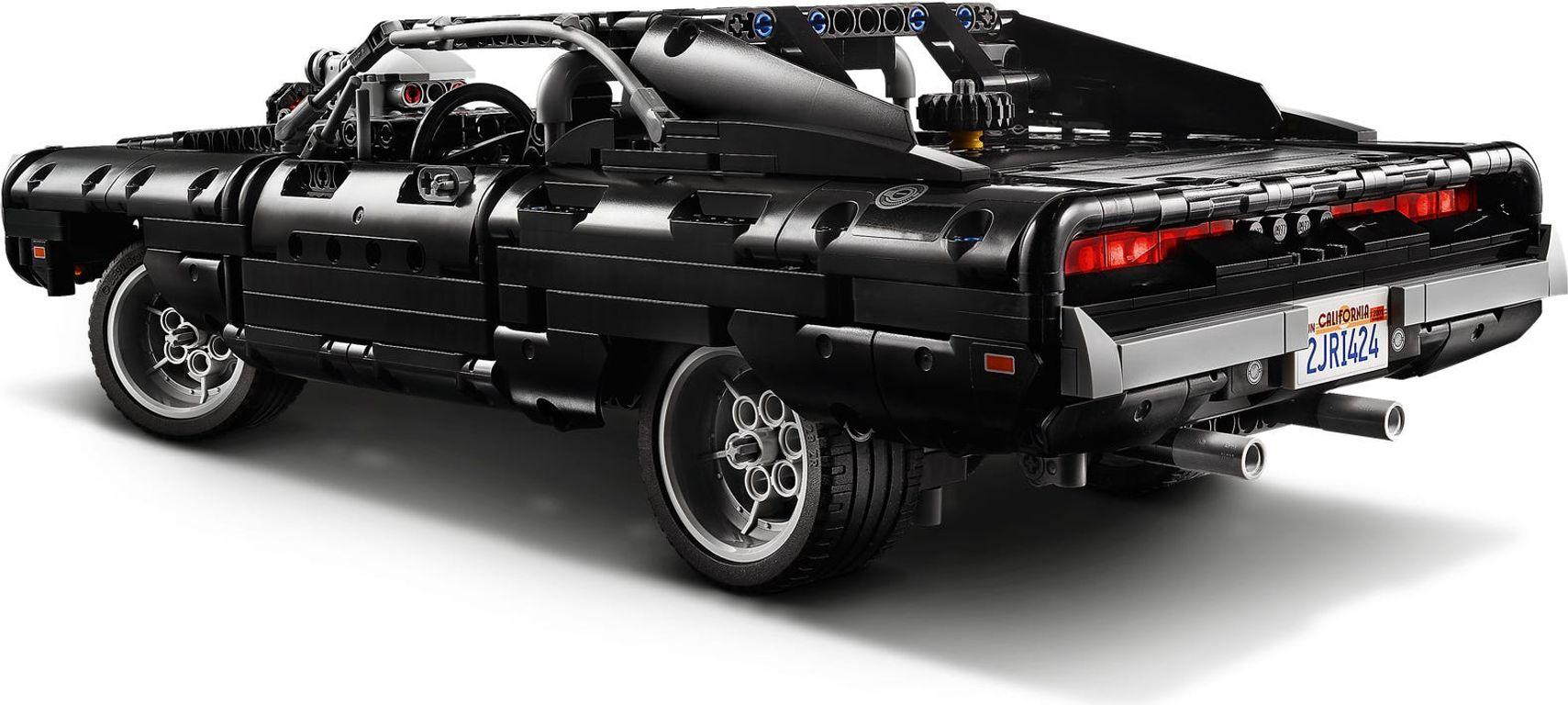 Dom's Dodge Charger back side