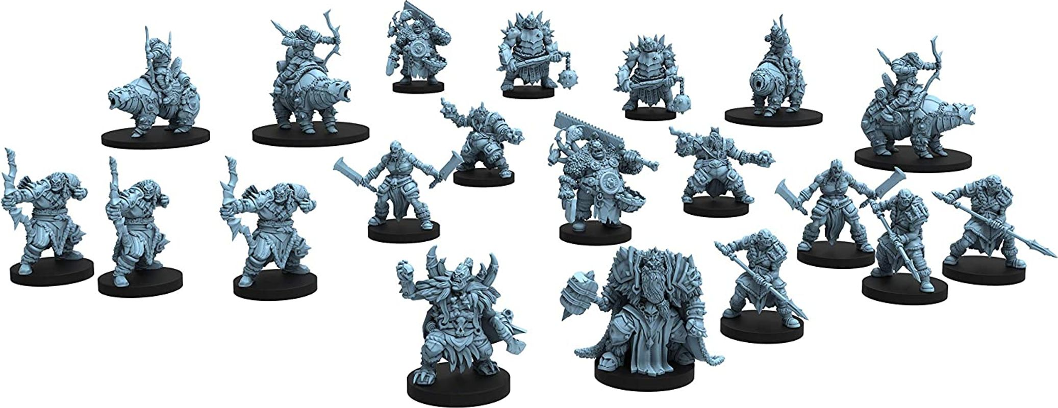 Hall of the Orc King miniatures