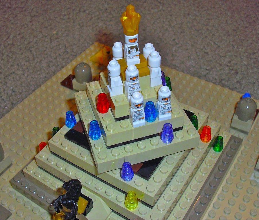 Ramses Pyramid components