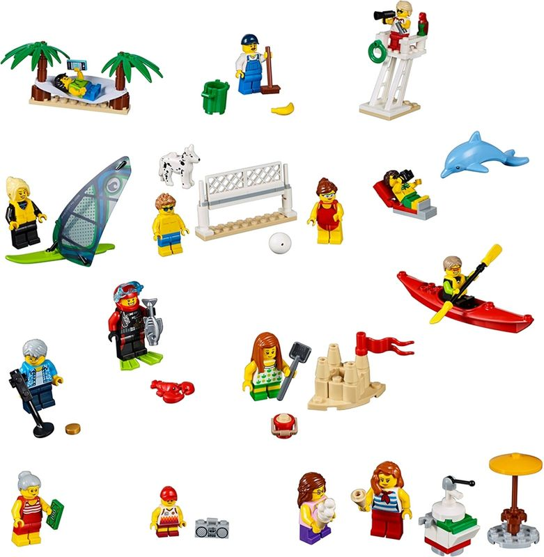 People pack – Fun at the beach components