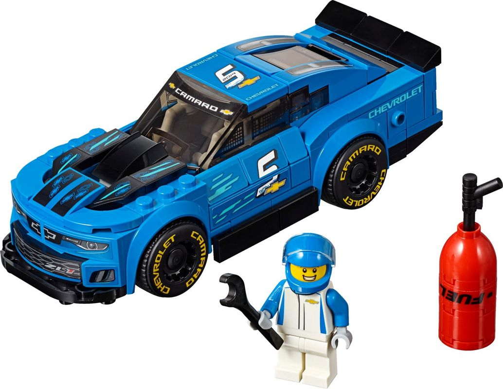 Chevrolet Camaro ZL1 Race Car components
