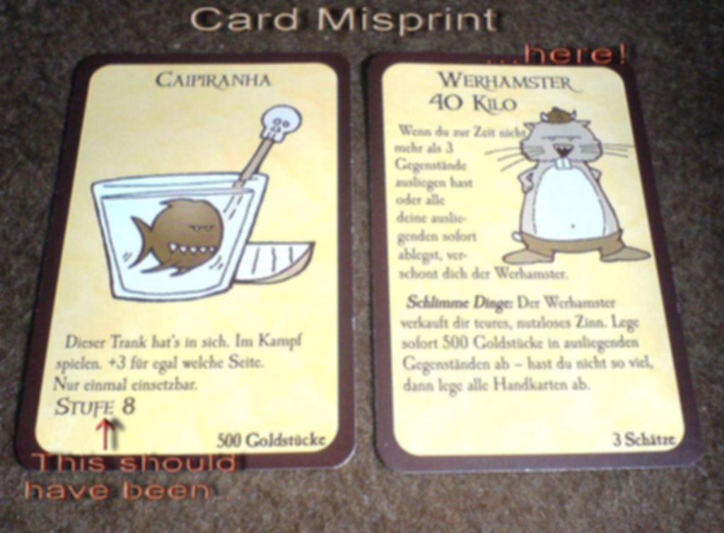 Munchkin 2: Unnatural Axe cards