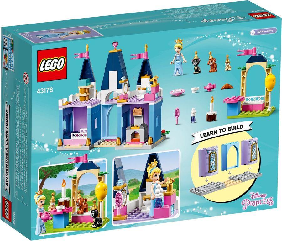 LEGO® Disney Cinderella's Castle Celebration back of the box