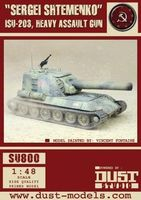 """Dust Tactics: ISU-203 Heavy Assault Gun - """"Sergei Shtemenko"""""""