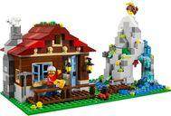 LEGO® Creator Mountain Hut components