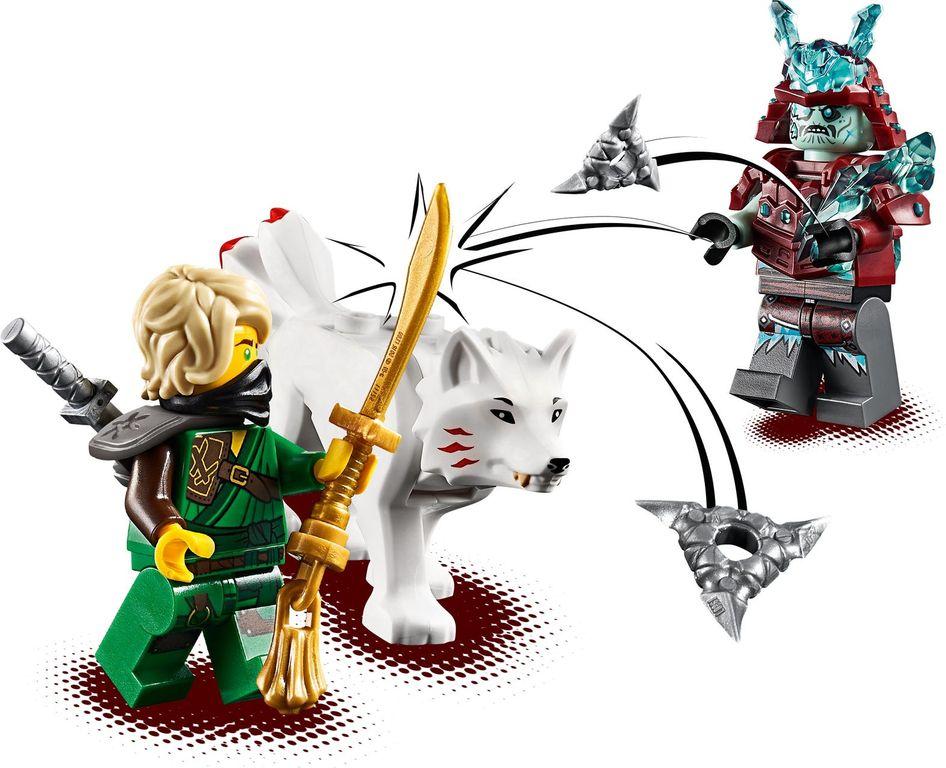 Lloyd's Journey minifigures