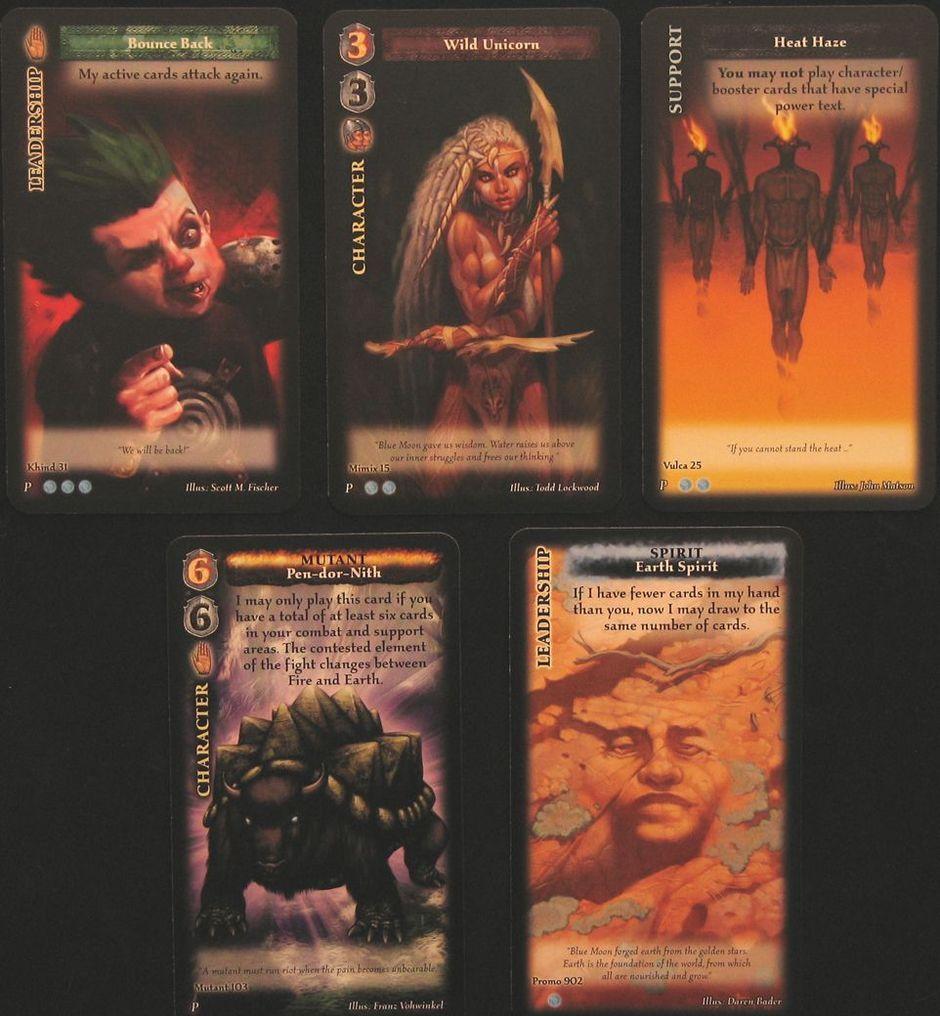 Blue Moon: The Pillar cards
