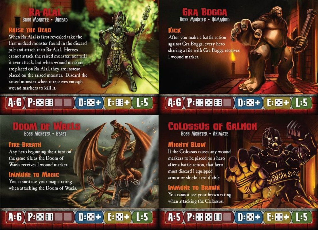 Dungeon Run cards