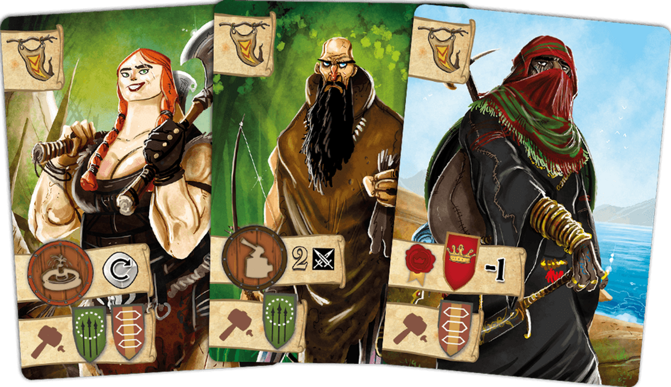 Robin Hood and the Merry Men cards