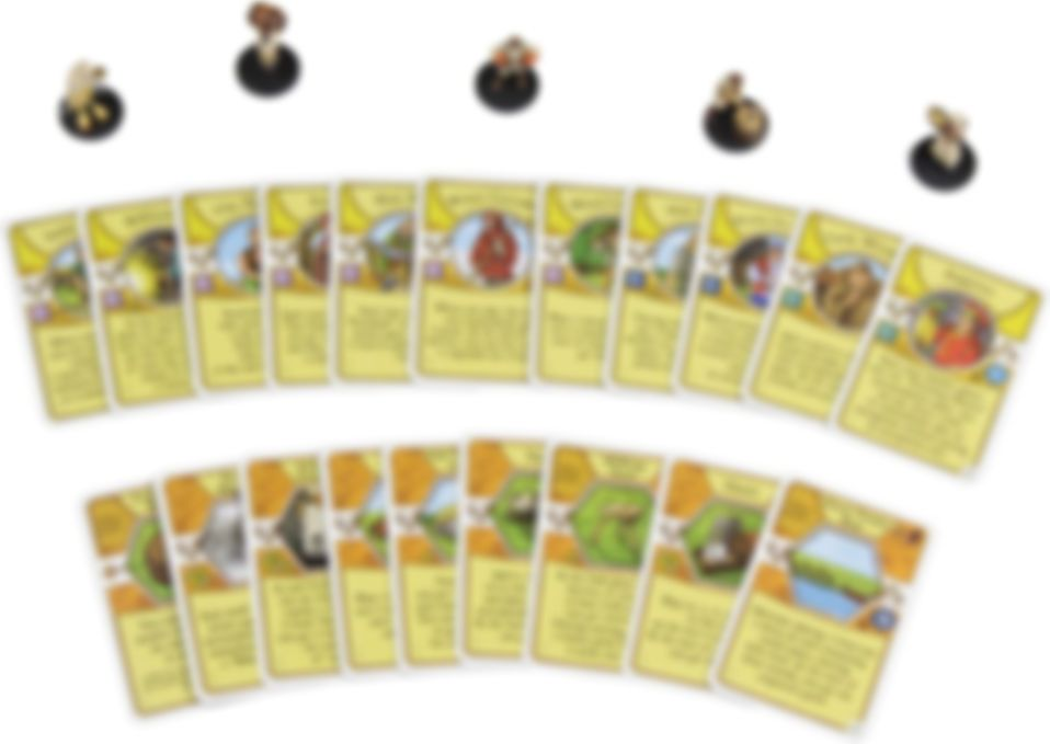 Agricola Game Expansion: White components