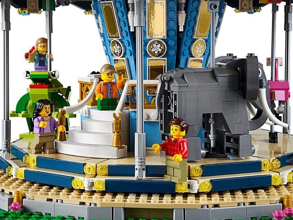 LEGO® Creator Expert Carousel interior