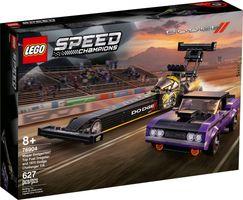 LEGO® Speed Champions Mopar Dodge//SRT Top Fuel Dragster and 1970 Dodge Challenger T/A
