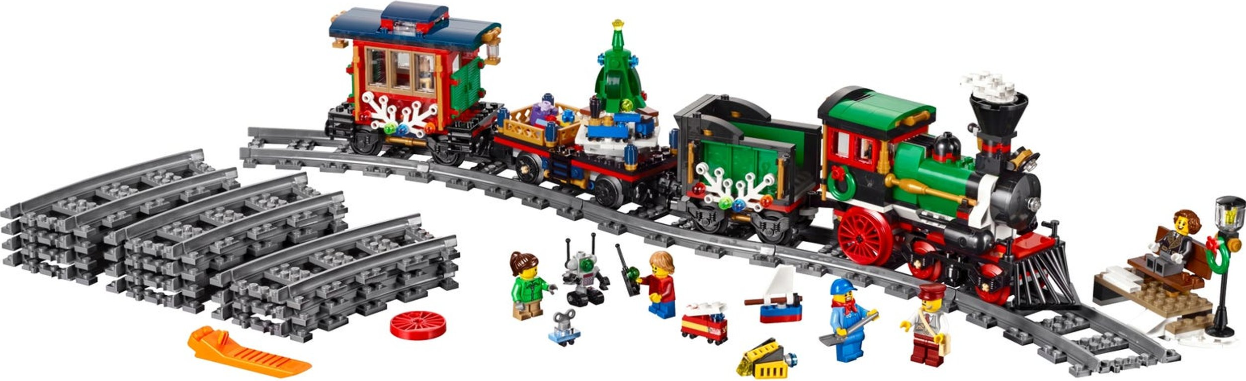 LEGO® Creator Expert Winter Holiday Train components