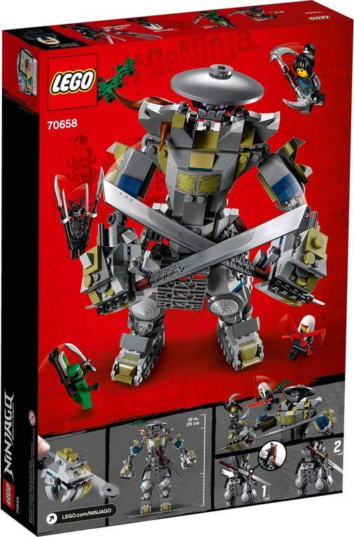 LEGO® Ninjago Oni Titan back of the box