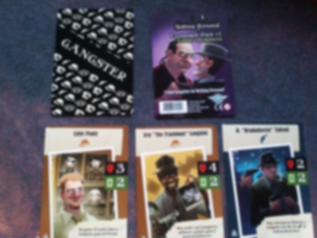 Nothing Personal Expansion Pack #1: Game Designers cards
