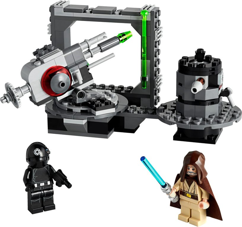 LEGO® Star Wars Death Star Cannon components