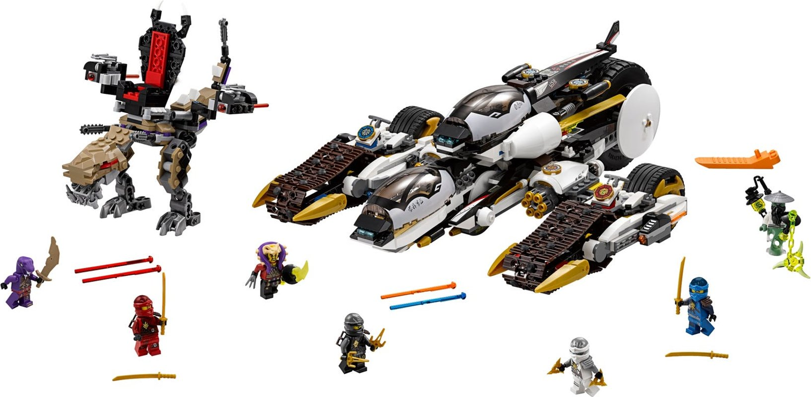 Ultra Stealth Raider components