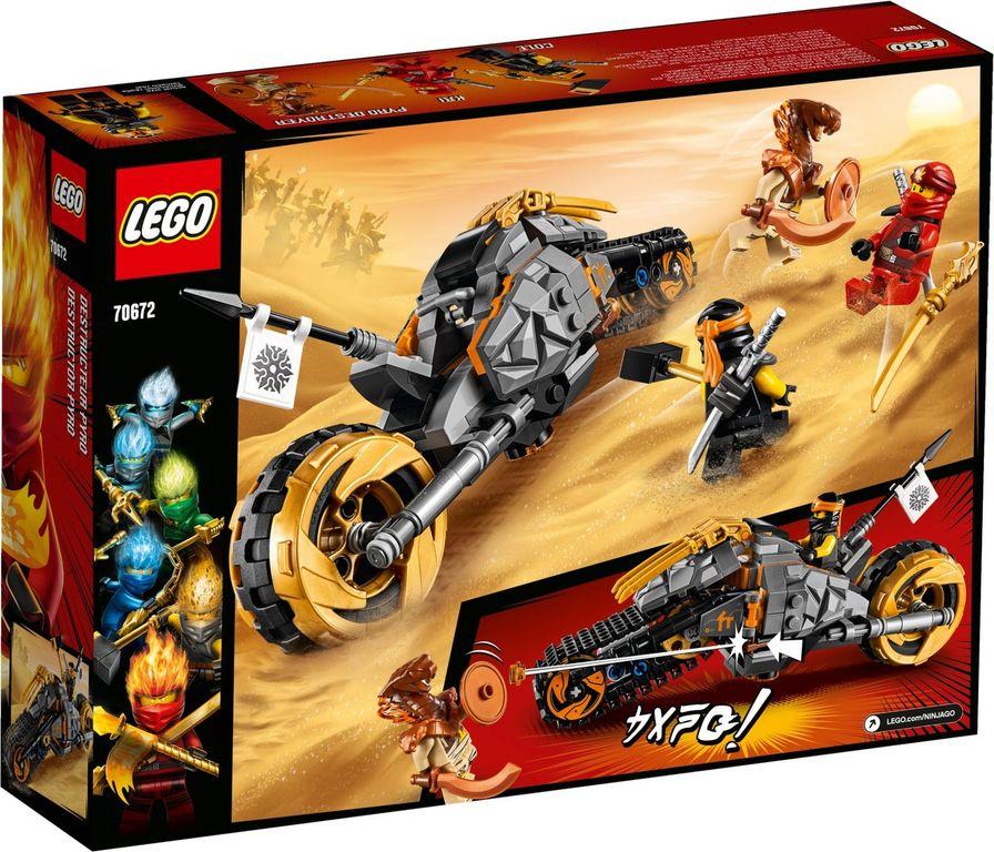 LEGO® Ninjago Coles Offroad-Bike back of the box