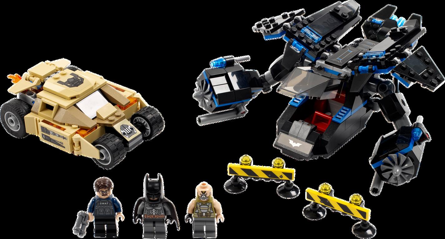 The Bat vs. Bane: Tumbler Chase components