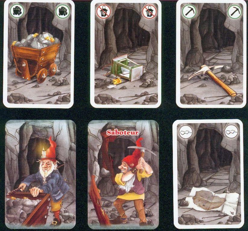 Saboteur cards