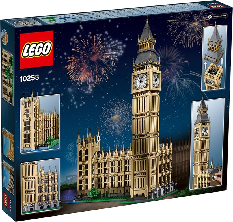 LEGO® Creator Expert Big Ben back of the box