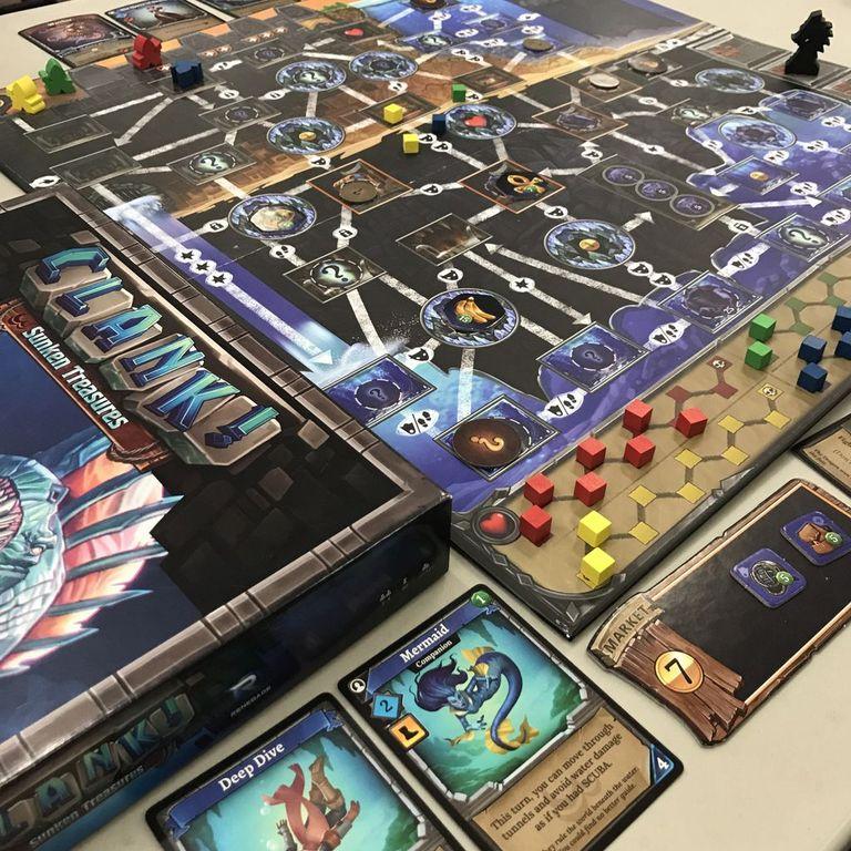 Clank! Sunken Treasures gameplay