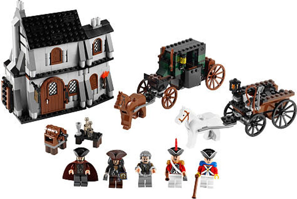 LEGO® Pirates of the Caribbean The London Escape components
