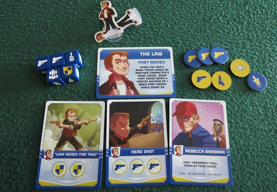 Video Game High School components