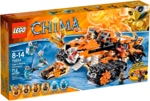 LEGO® Legends of Chima Tiger's Mobile Command