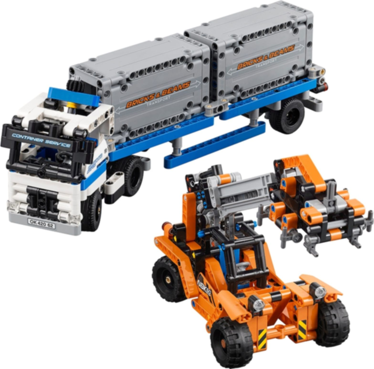 LEGO® Technic Container Yard components