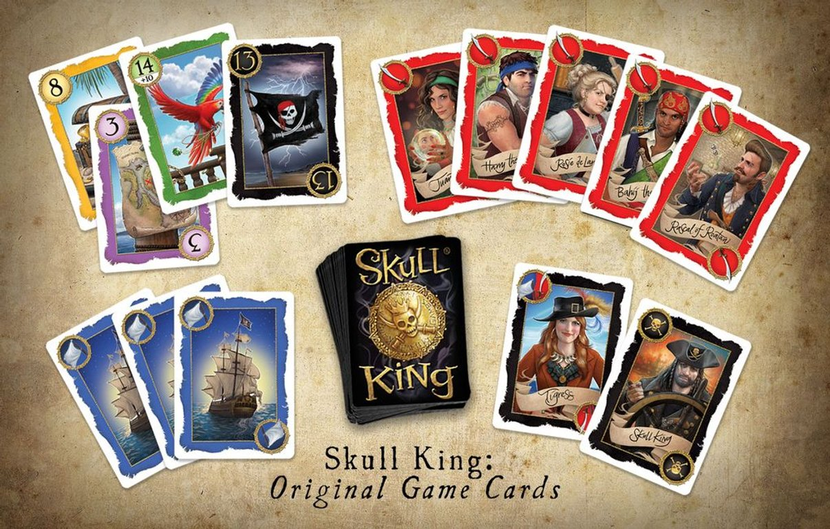 Skull King components