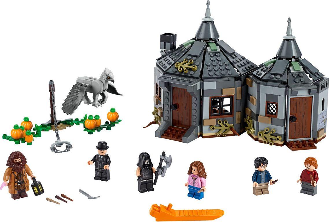 LEGO® Harry Potter™ Hagrid's Hut Buckbeak's Rescue components