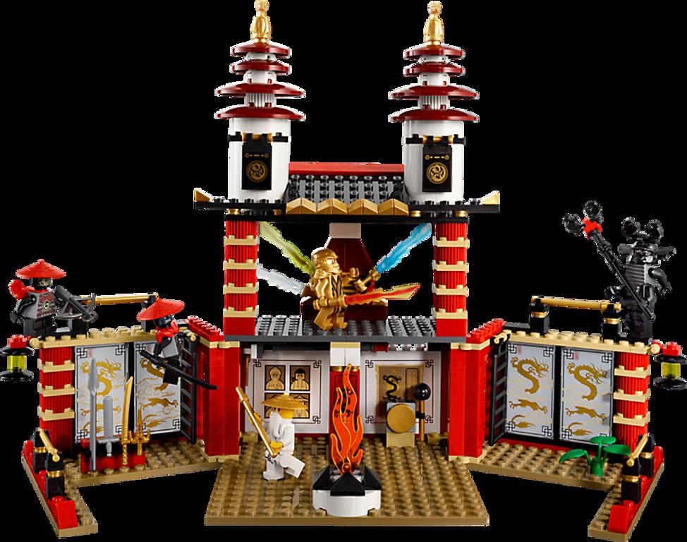 LEGO® Ninjago Temple of Light components