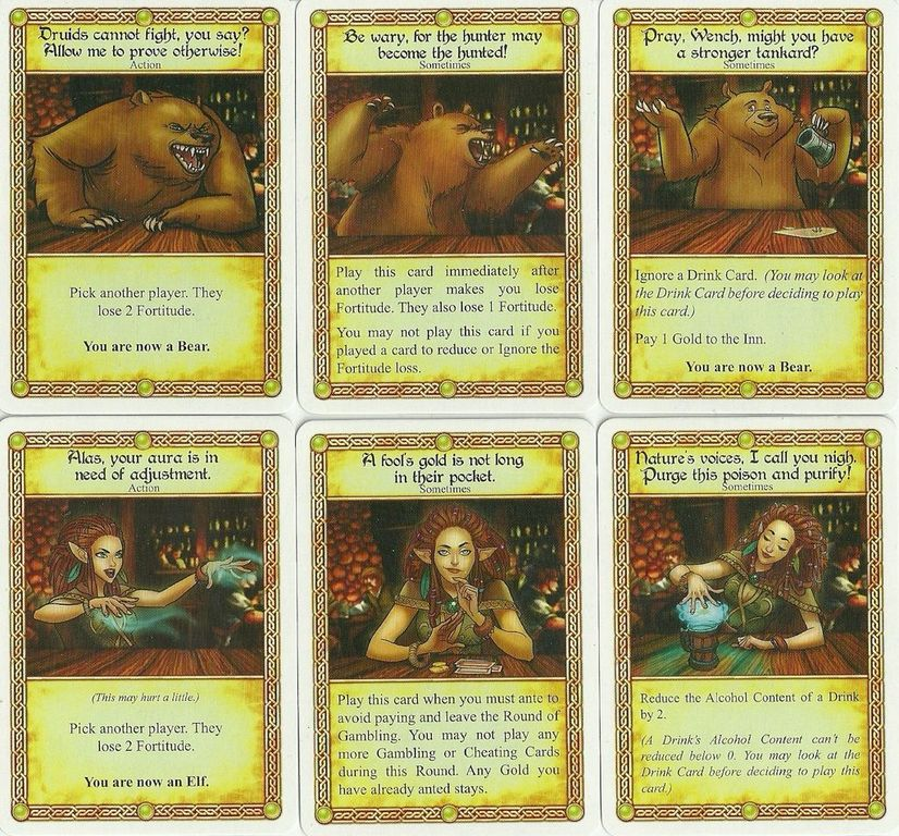 The Red Dragon Inn: Allies - Erin the Ever-Changing cards