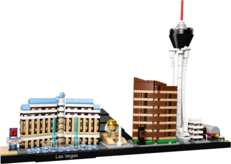 LEGO® Architecture Las Vegas components