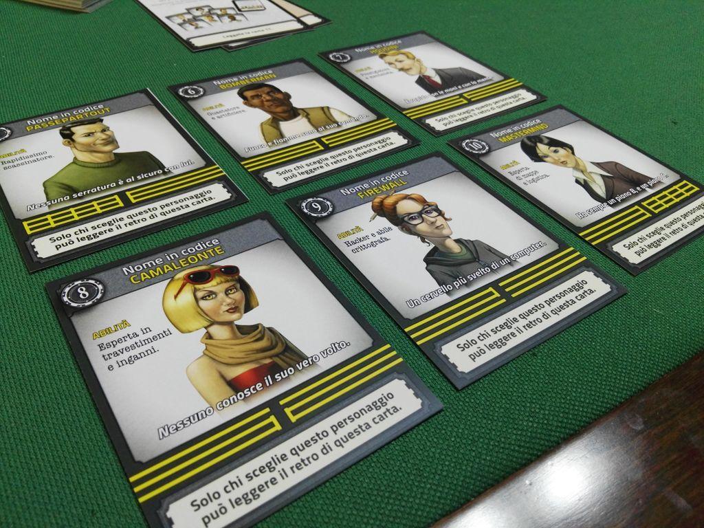 Deckscape: Heist in Venice cards