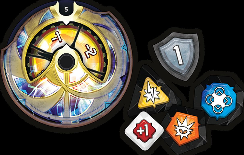 KeyForge: Worlds Collide - Premium Box components