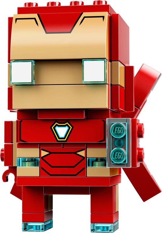 LEGO® BrickHeadz™ Iron Man MK50 components