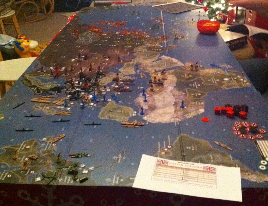 Axis & Allies Europe 1940 gameplay